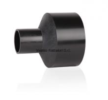 Переход литой ПНД 315-200мм (SDR17, PE100) ROFITT